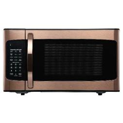 Hamilton Beach 1.1 Cu. Ft. COPPER Microwave Oven kitchen off
