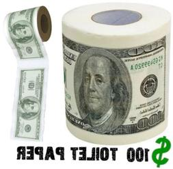 BigMouth Inc 100 Dollar Money Funny Toilet Paper, Novelty Pr