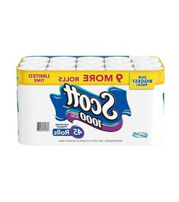 Scott 1000 Limited Edition Bath Tissue 1,000 sheets, 45 roll