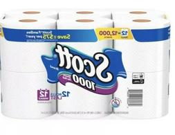 Scott 1000 Septic Safe Toilet Paper -36 Rolls - Free Shippin