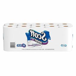 Scott 1000 Sheets Per Roll Toilet Paper, Bath Tissue, 20 Rol