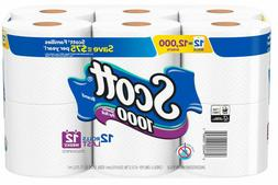 Scott 1000 Sheets Toliet Paper Bath Tissue 1-ply Septic Safe