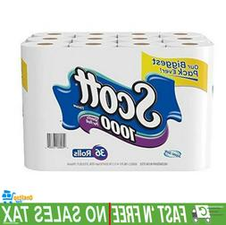 Scott 1000 Sheets Unscented Long Lasting Bath Tissue Toilet
