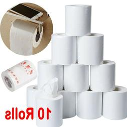 10Pack Rolls Paper Towels, Toilet Paper Household Three-Laye