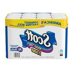 Scott 1100 Unscented Bath Tissue Bonus Pack 36 Rolls