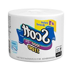 Scott 1100 Unscented Bath Tissue, 1-ply