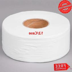 2 Ply Jumbo Toilet Paper Roll With 9 Diameter White Large J