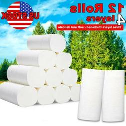 12 rolls 4 ply strong soft toilet