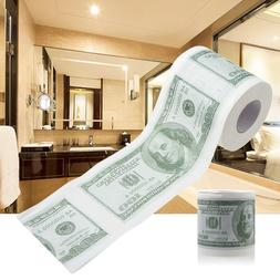1Pc Funny One Hundred Dollar Bill <font><b>Toilet</b></font>
