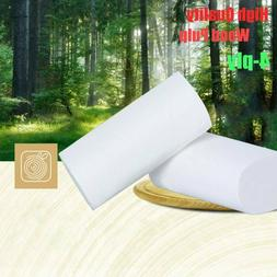 2/12/24/36 Rolls 4-Ply Unbleached Toilet Paper Tissue Soft H