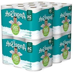 Angel Soft 2 Ply Toilet Paper 48 Double Bath Tissue Pack 4 W
