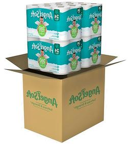 Angel Soft 2 Ply Toilet Paper 48 Double Bath Tissue Pack of