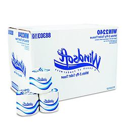 Boardwalk 2-Ply Toilet Paper - 500 Sheets per Roll / 96 Roll