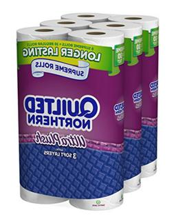 Quilted Northern Ultra Plush 24 Supreme = 90 Regular Rolls T