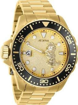 Invicta 25139 Character Collection Men's 50mm Gold-Tone Stee