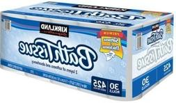 30 rolls of bath tissue 2 ply