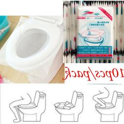 50pcs Hygienic Toilet Paper Seat Covers Disposable Protector