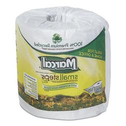 Marcal Toilet Paper 100% Recycled - 2 Ply, White Bath Tissue