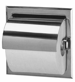 Bobrick 6697 Stainless Steel Recessed Toilet Tissue Dispense