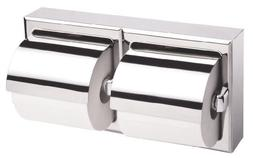 Bobrick 6999 Stainless Steel Surface Mounted Double Roll Toi