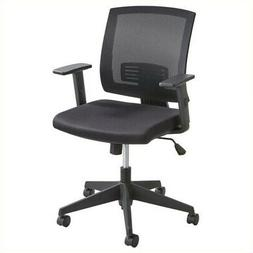 Safco Products 7195BL Mezzo Task Chair, Black
