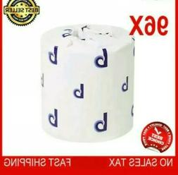 96 Roll Case Toilet Tissue Two-Ply Pack Bathroom Soft White