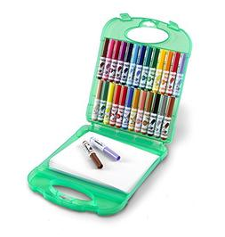 Crayola Pip-Squeaks Washable Markers & Paper Set, Kids Trave