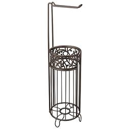 InterDesign Vine Free Standing Toilet Paper Holder – Dispe