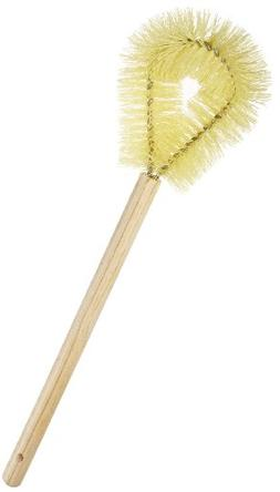 Rubbermaid Commercial FG630100YEL Toilet Bowl Brush with Har