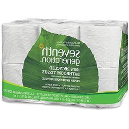 Seventh Generation, Bath Tissue, 100% Recycled 300Shts, 12.0