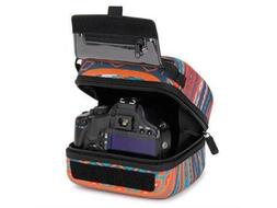 USA Gear Quick Access DSLR Hard Shell Camera Case  w/Molded