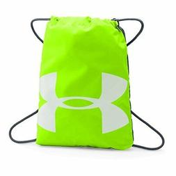 official photos ec0df c298e Under Armour Ozsee Sackpack, Hyper Green  Stealth Gray, One