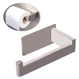 Adhesive Toilet Paper Towel Holder Brushed Nickel Toilet Pap