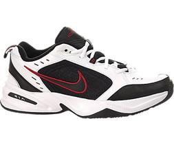 Nike Men's Air Monarch IV Cross Trainer, White/Black, 10.5 R