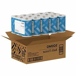 Amazon Brand - Solimo 2-Ply Toilet Paper, 350 Sheets per Rol