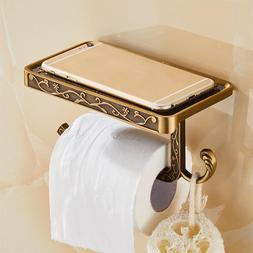 Antique Carved Zinc Alloy Bathroom <font><b>Paper</b></font>