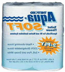 Aqua-Soft Toilet Tissue - Toilet Paper for RV and marine - 2