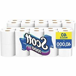 Scott Bath Tissue One-ply 20 Rolls 1000 Sheets Per Rolls
