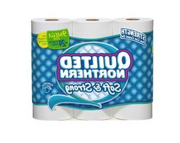 Quilted Northern Bath Tissue Soft and Strong Mega Roll, 9 Co