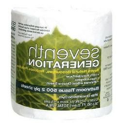 Bathroom Tissue, 100% Recycled Paper, 2 Ply, 500 Count. This
