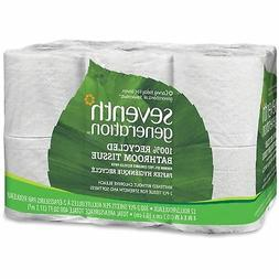 Seventh Generation Bathroom Tissue, 2-ply, 300 Sheets )