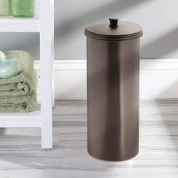 Bathroom Tissue Canister-Canister +3 Rolls Bath Tissue Paper