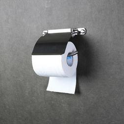 Bathroom Toilet Roll Paper Cover Holder Wall Mounted Hanger