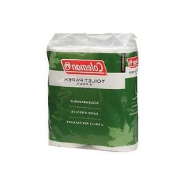 Coleman Company Biodegradable Camp Toilet Paper 4 Pack