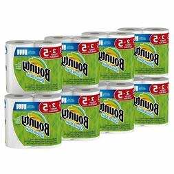 Bounty Quick-Size Paper Towels, White, Family Rolls, 16 Coun