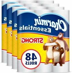 Charmin Essentials Strong Toilet Paper, 1-Ply,48 Giant Rolls