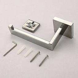 Chrome Stainless Steel Bathroom Toilet Roll Paper Holder Hoo