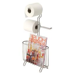 InterDesign Classico Free-Standing 3 Roll Toilet Paper Holde