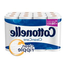 cleancare family roll toilet paper pack of