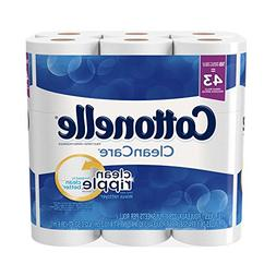 Cottonelle CleanCare Family Roll Toilet Paper Bath Tissue 36
